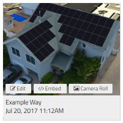 Your new screenshot will appear as the project's thumbnail image.