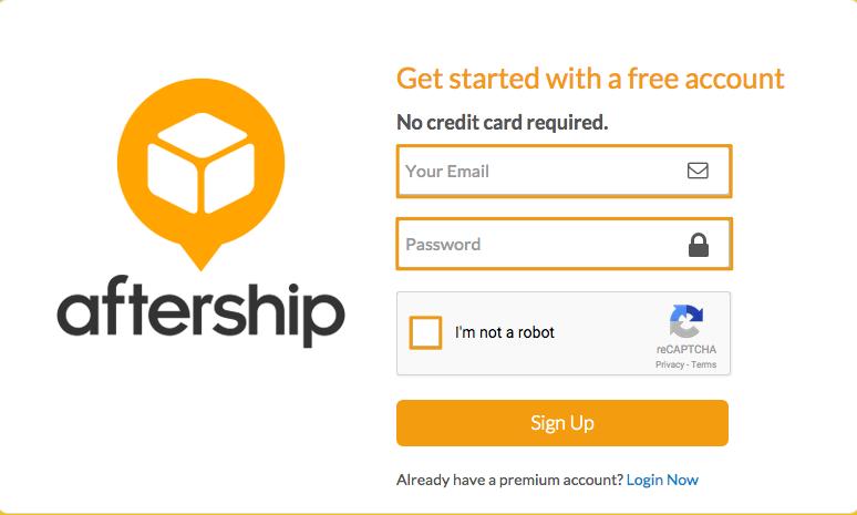 Generate AfterShip API Credentials
