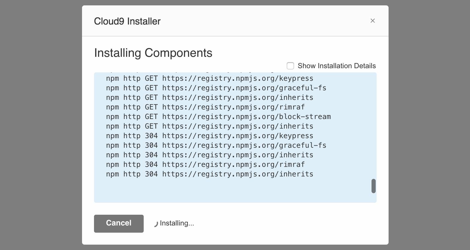 Adding an Installer · Cloud9 SDK