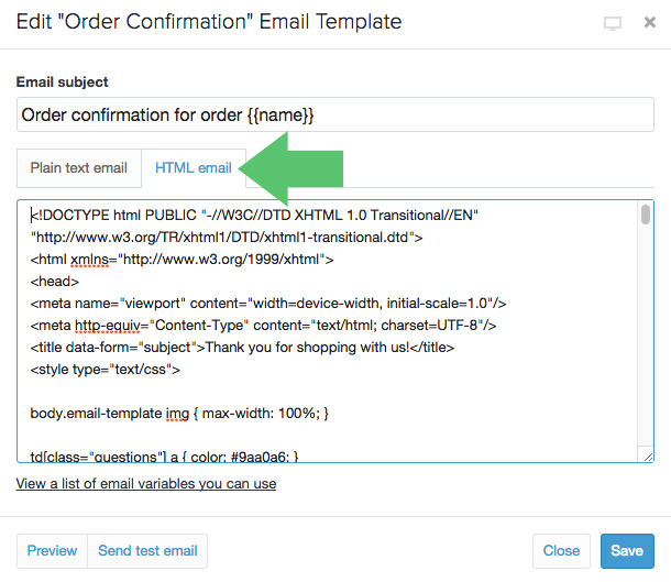 Does Conversio replace Shopify's Order Confirmation? | Conversio ...