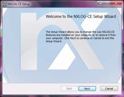 Installation of NXlog