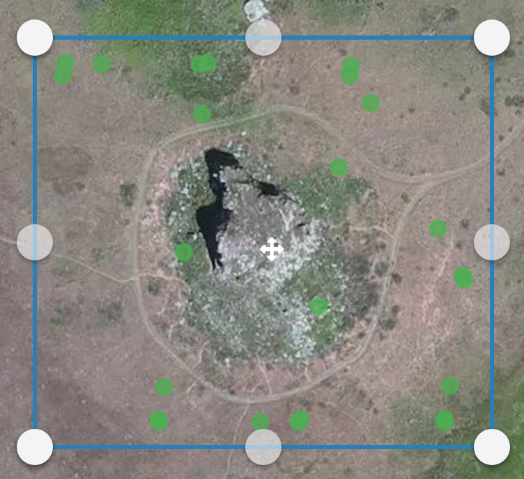 When you upload to Map Engine, the location of your images will be highlighted in green. If you don't see these markers, your geotags may be unreadable.
