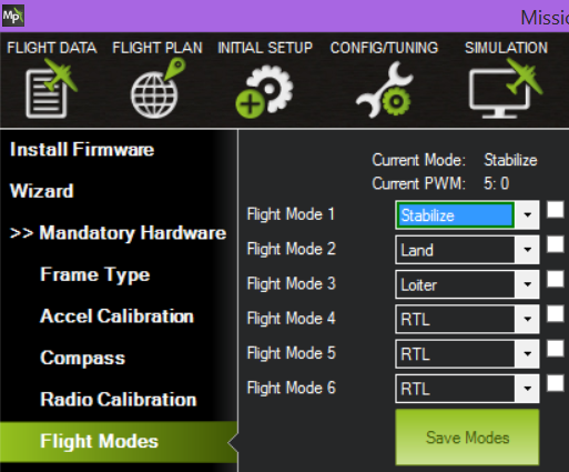 5] Pixhawk Firmware & Precision Landing Settings · IRLOCK