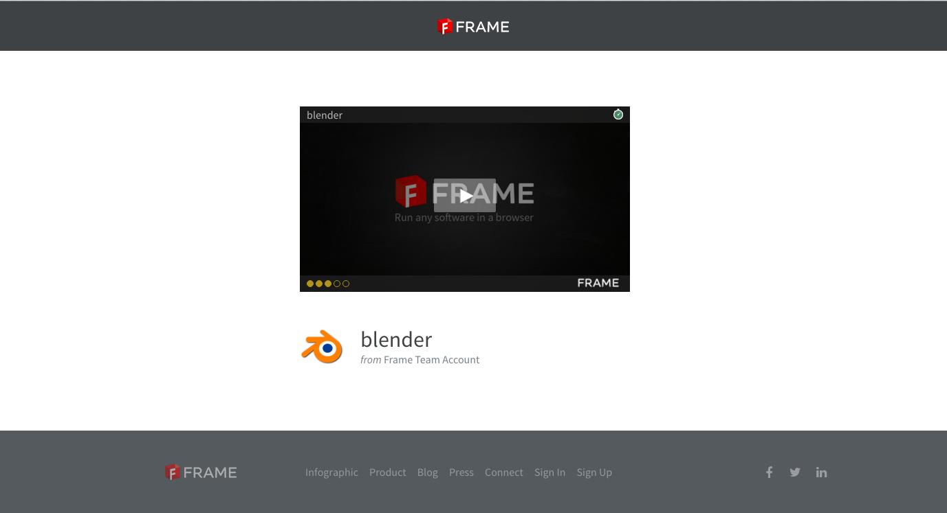 Embed apps in your website · Frame Documentation