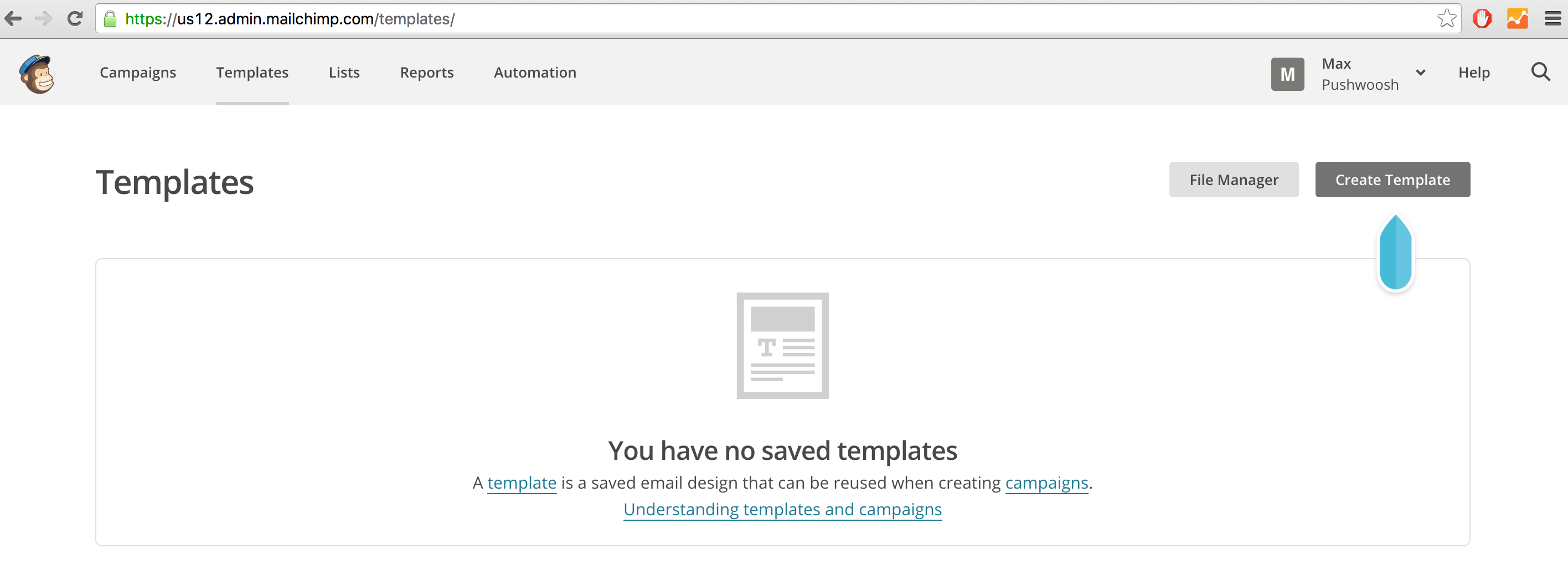 Easy Templates For Rich Media With Mailchimp - Export mailchimp template
