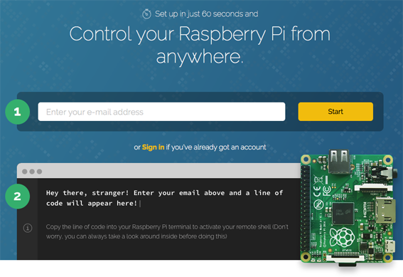 Terminal for Raspberry Pi