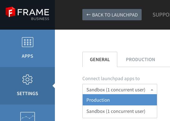 Publish apps · Frame Documentation