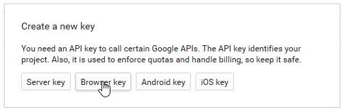 Google Maps API key · BaseKit