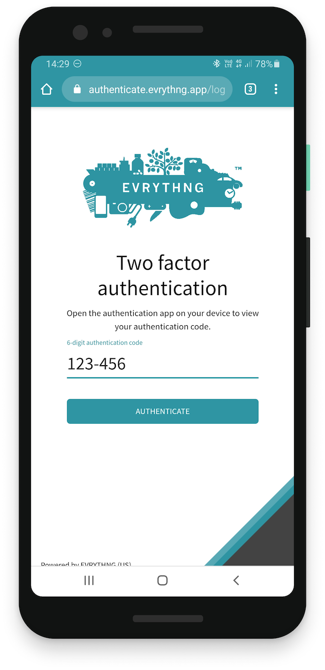 This user has two-factor authentication enabled to improve the security of their account