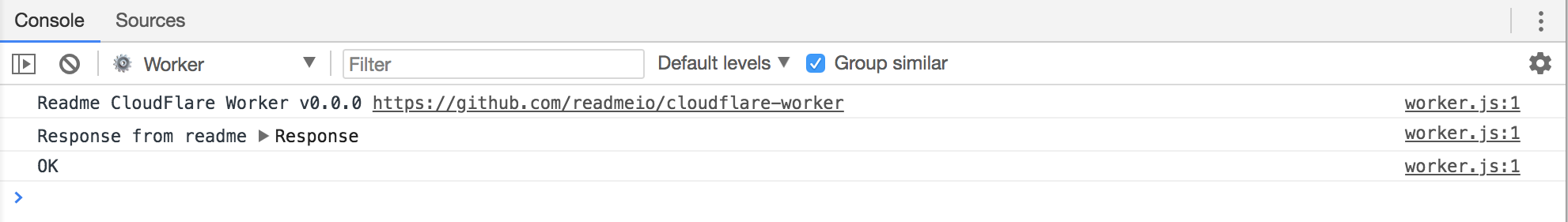 Sending Logs to ReadMe with CloudFlare