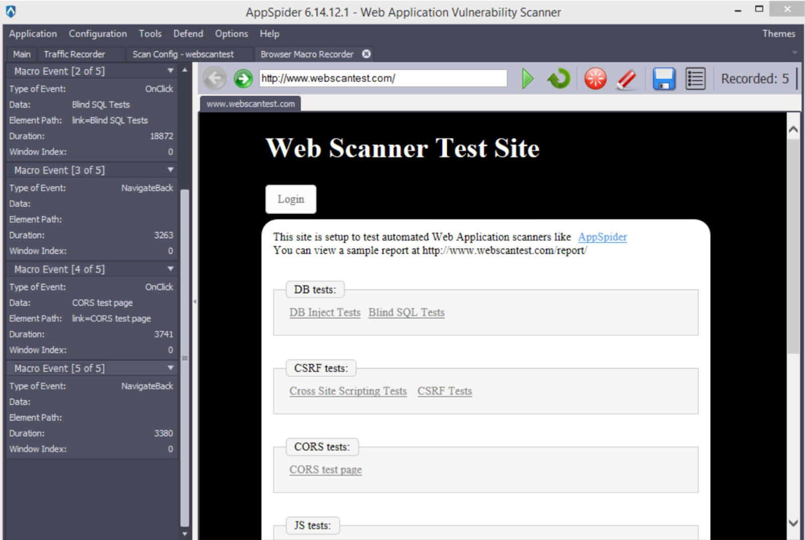 Browser Macro Recorder