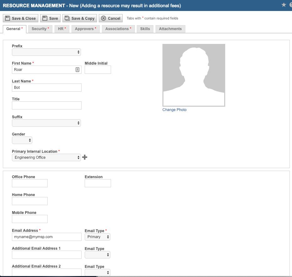Create a Roar API Account in Autotask