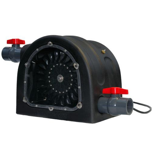 *Figure 2.3. 1Kw Powerspout Pelton turbine.*