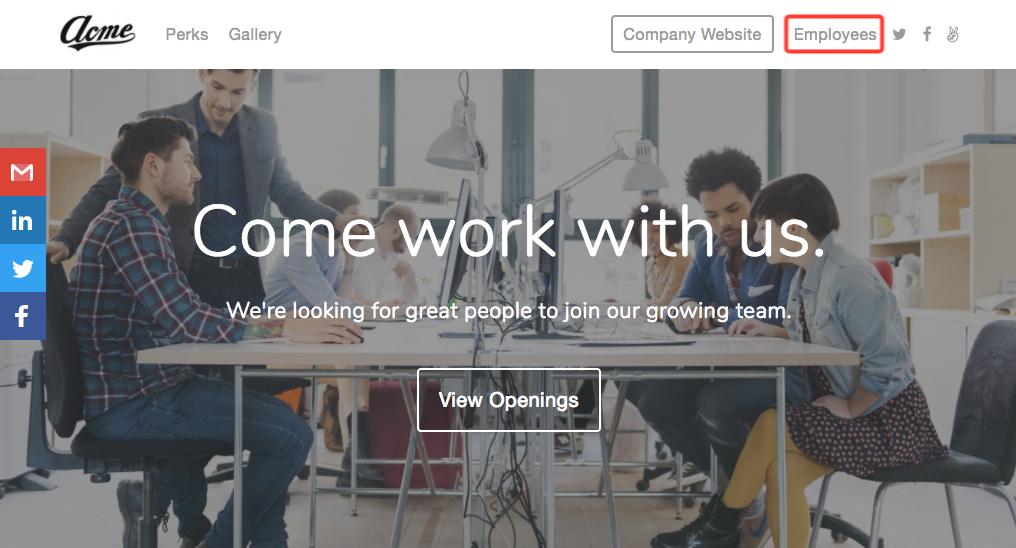 Employee Portal on