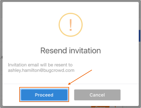 Resend Invitation Email – Email Invitation