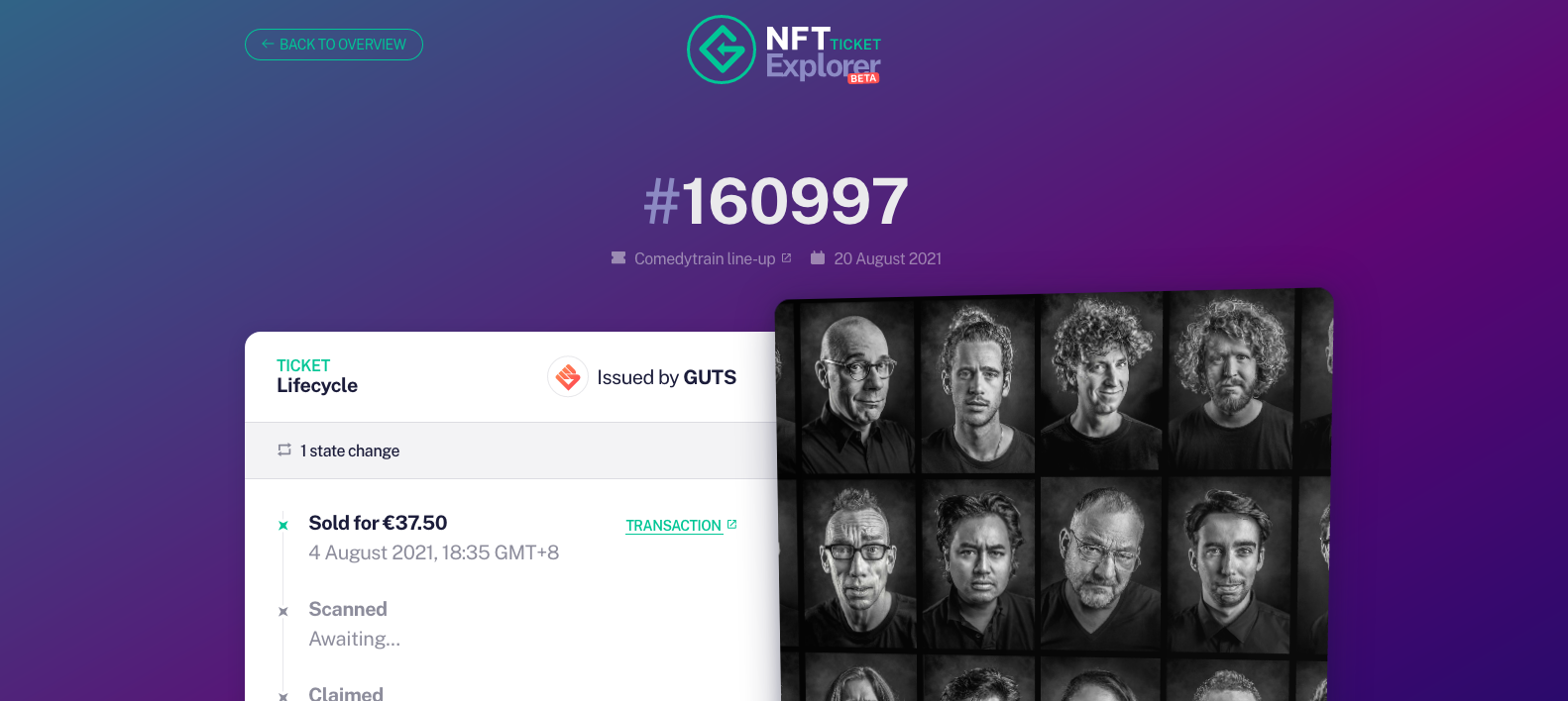 [See the history of a ticket on the timeline page using its hash.](https://explorer.get-protocol.io/ticket/0x8b3dbdcdc399aee9721517cd6b95d7eaaf280756dffd948f32861e01f9680957)