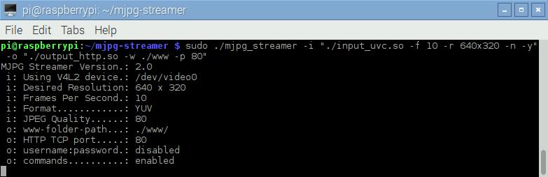 Running the server