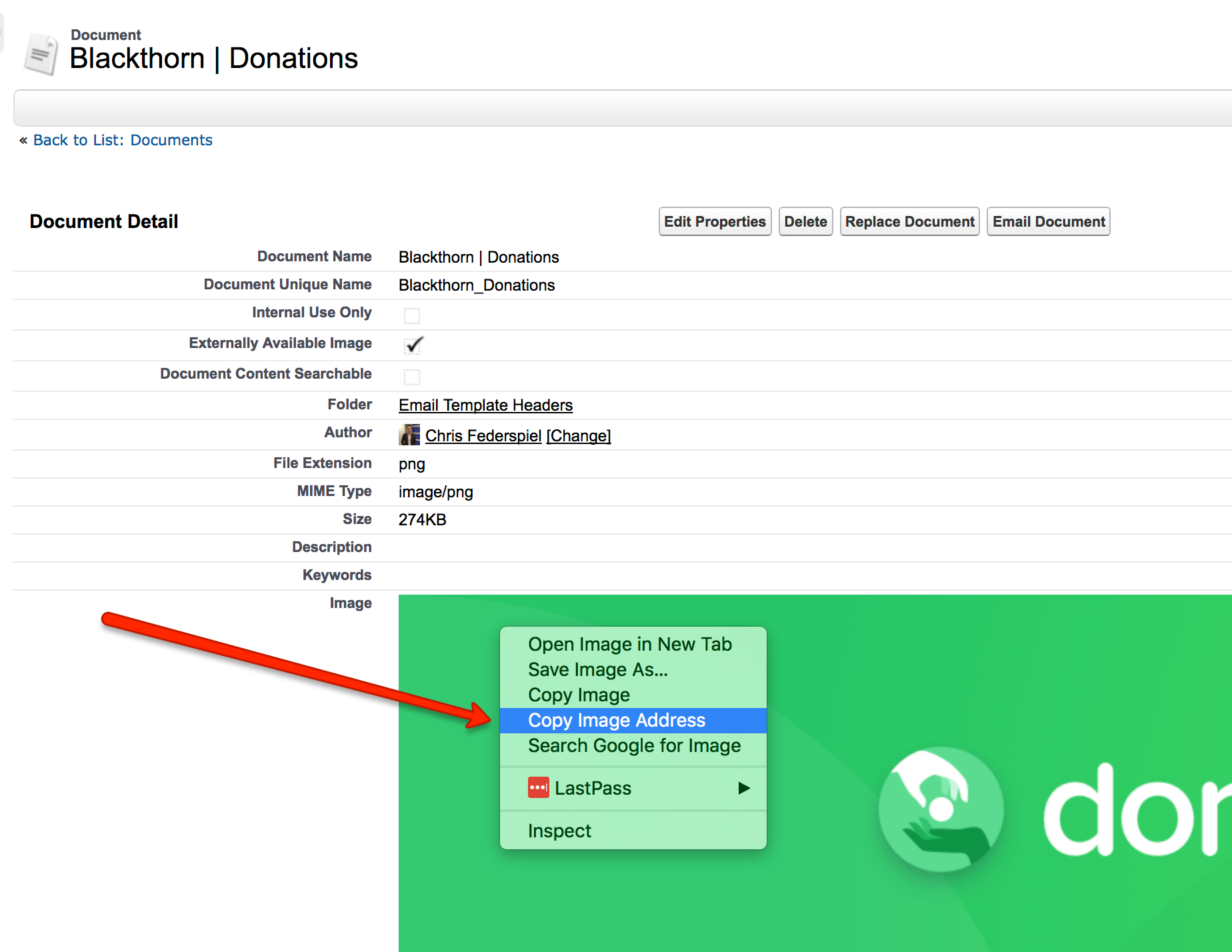 Donation Form Setup