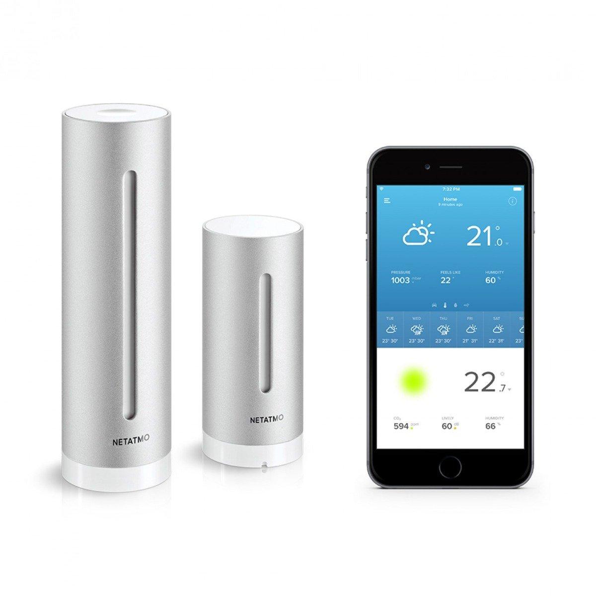 The Netatmo Smart Weather Station