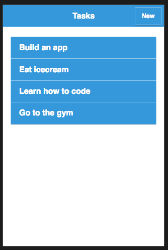 Todo app.