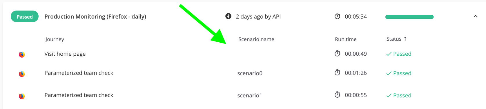 Assigning scenario names to your DataTables