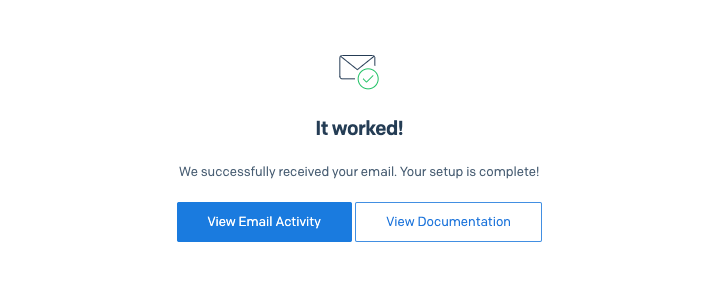 Working SendGrid integration