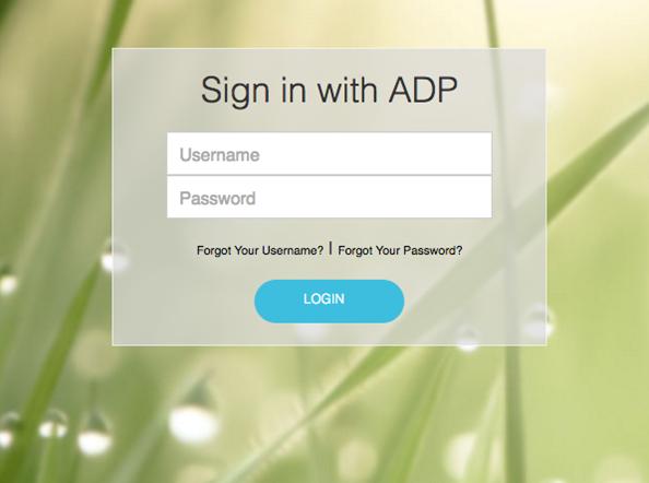 My Adp App