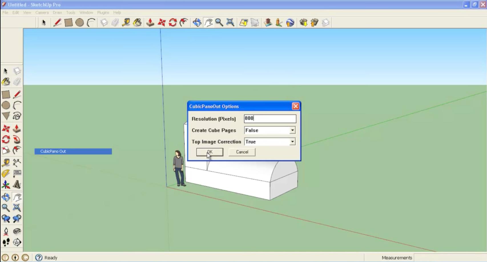 Crear render 360 desde Sketchup