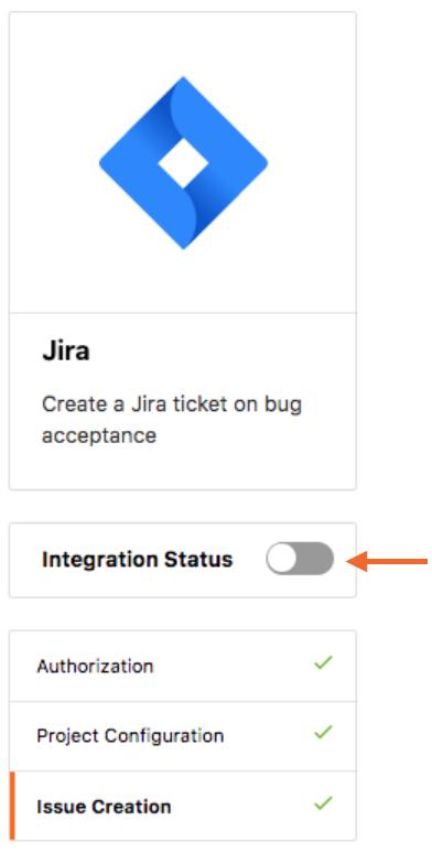 Integration Status