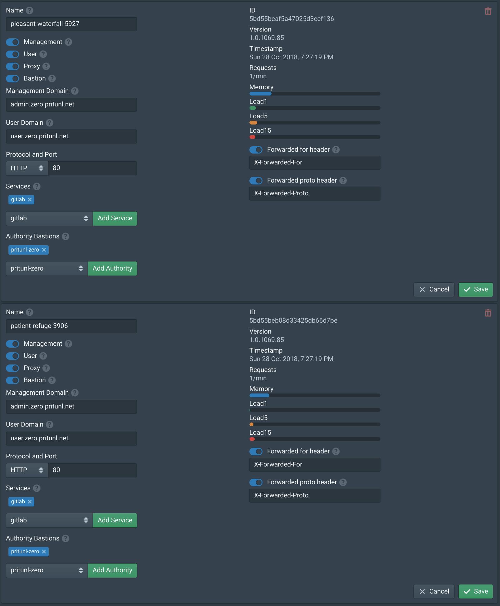 Pritunl Zero GitLab