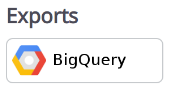 Click the `Export BigQuery` button to get started.