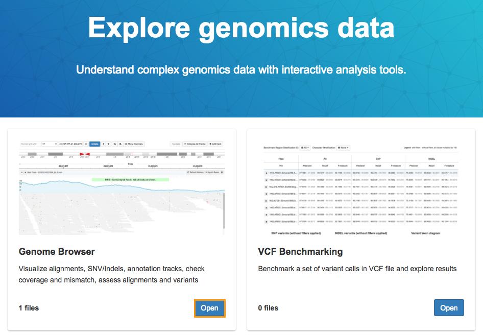 Seven Bridges Genome Browser