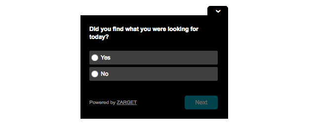 Poll - Radio Button