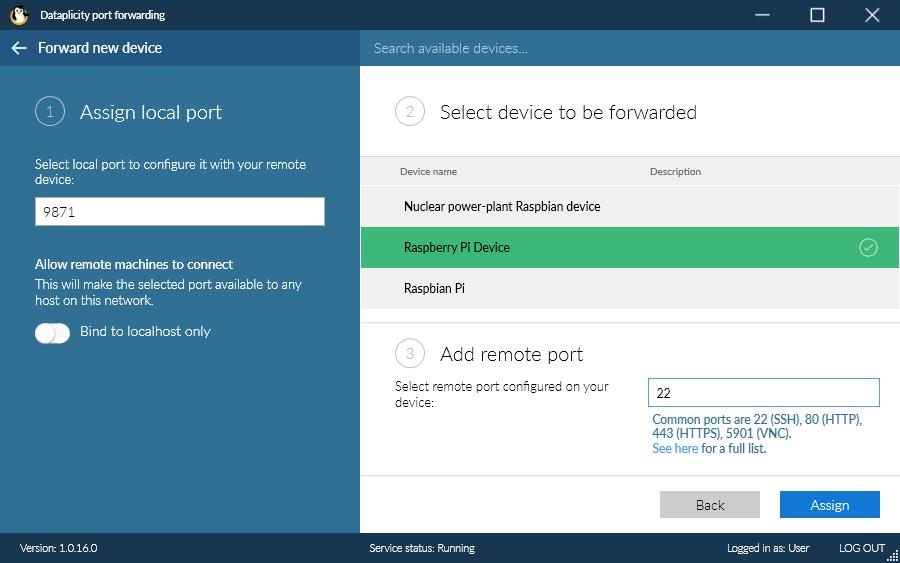 Access Pi via SSH