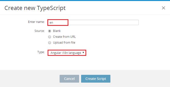 New language TypeScript