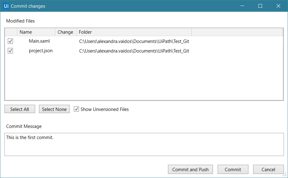 GIT Version Control