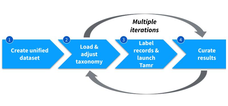 Categorization project workflow