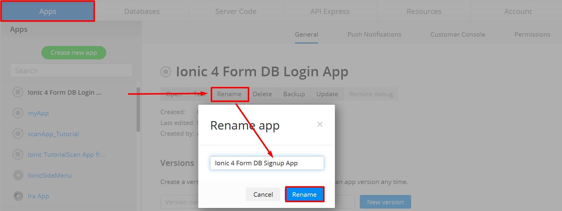 Renaming App