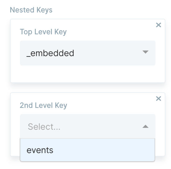 2nd Level Key Options