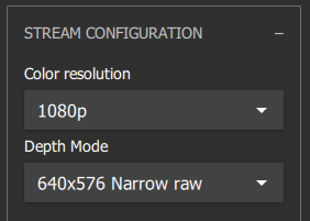Recommended settings, only increase resolution of your device can support it.