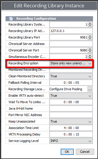 How to Encrypt Recordings