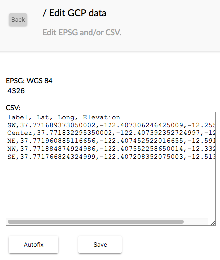 Here is what the GCP .CSV Checker Tool will look like in your browser.