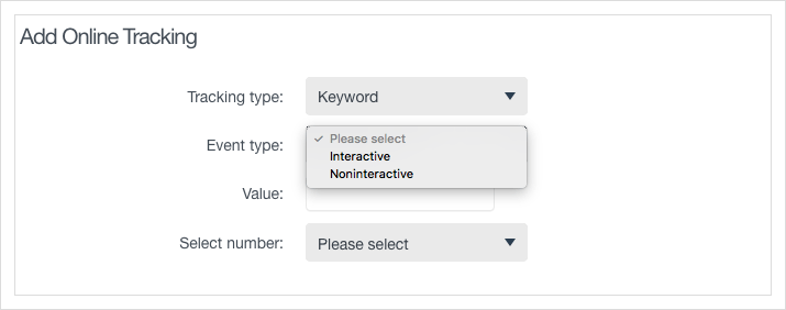 Choose between interactive and non-interactive