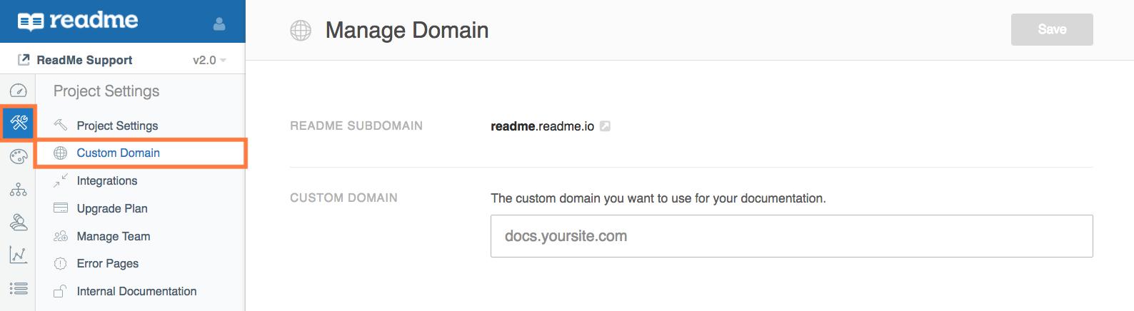 Setting Custom Domain Ssl