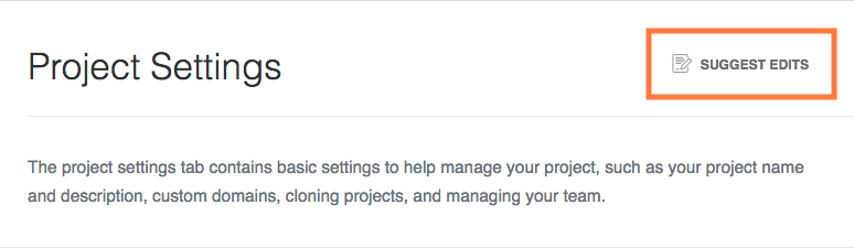Disabling **Suggest Edits** in Project Settings will remove this icon from all pages.