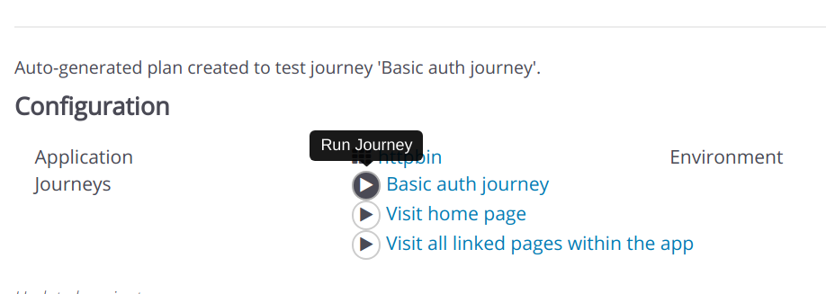 Start Individual Journeys within Plans