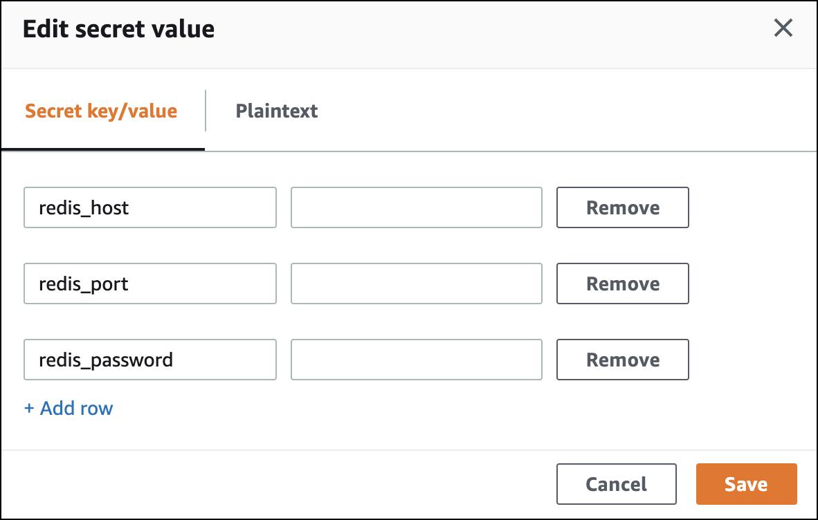 Redis keys and values