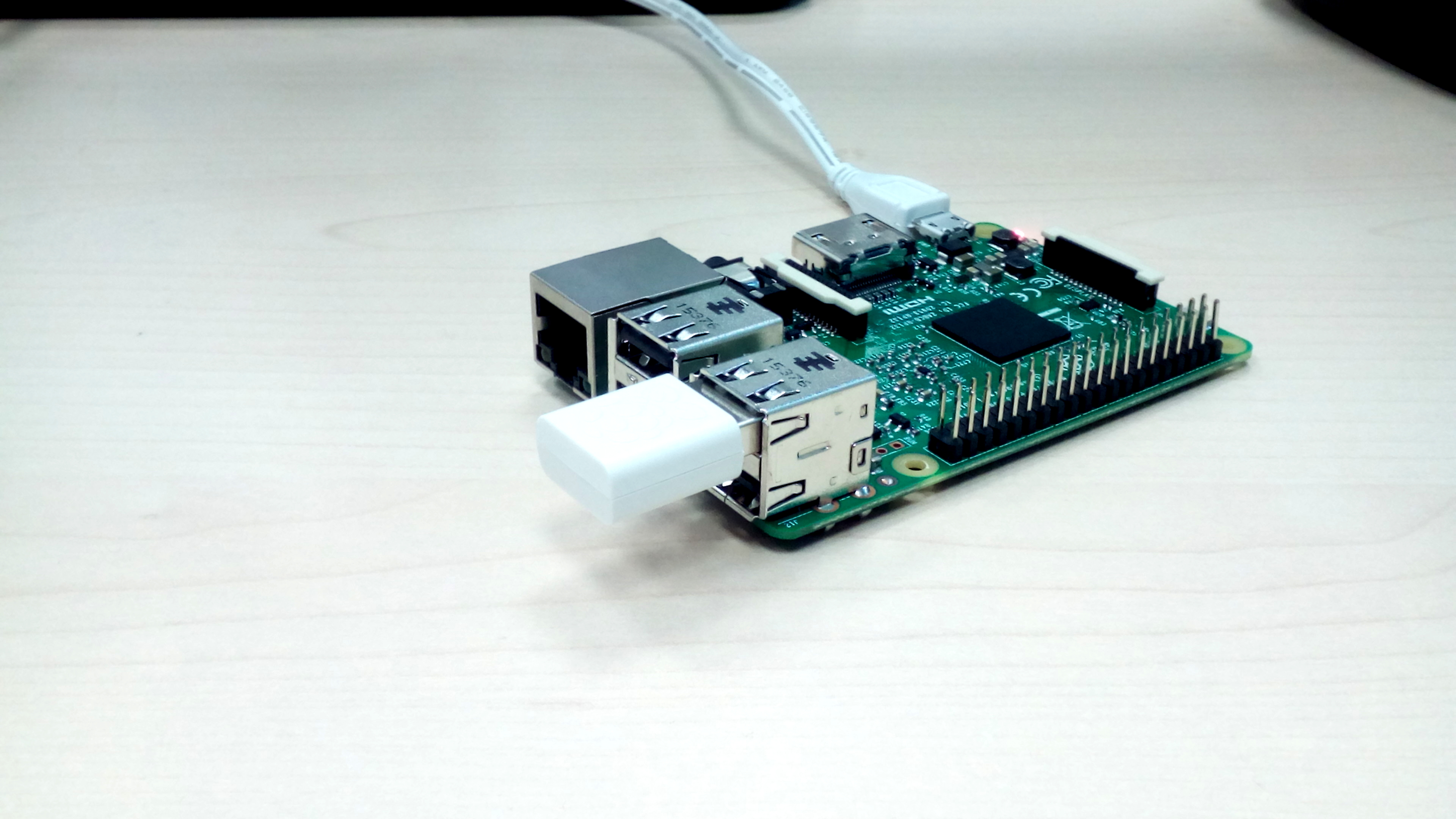 Raspberry Pi using WiFi module
