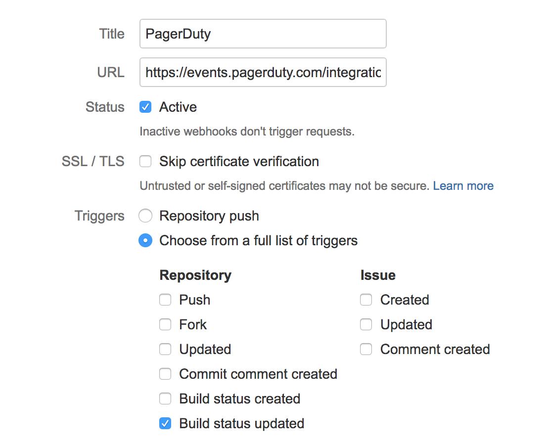Bitbucket Integration Guide | PagerDuty