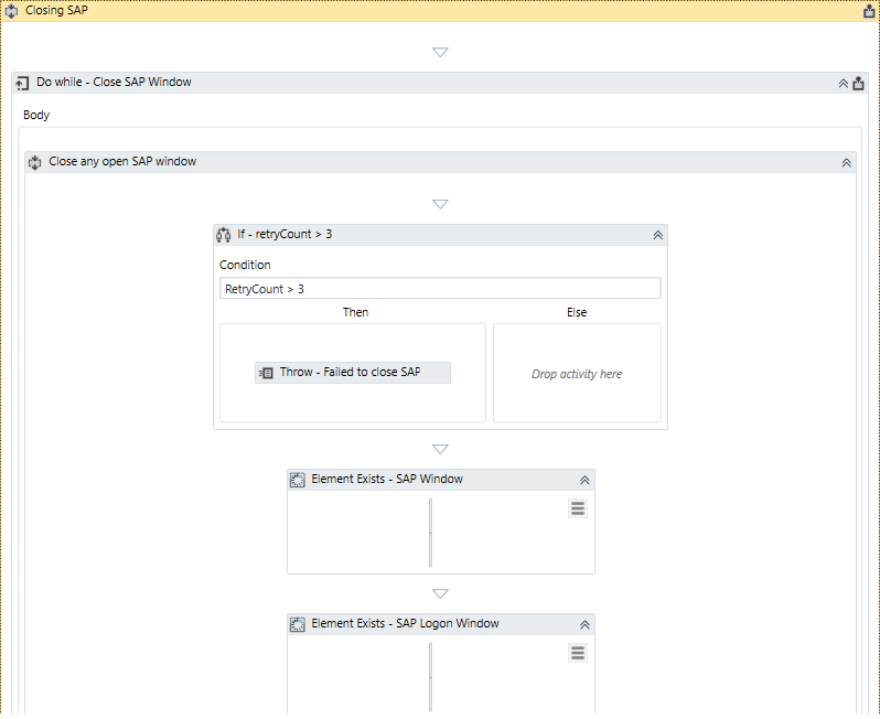 Example of SAP Automation Project